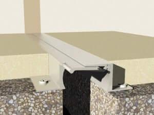 Profile dilatatie aluminiu de pardoseala