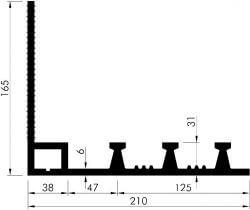 profil etansare AM350 K