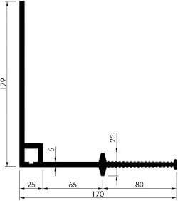 profil etansare colt D330 o parte fina